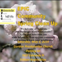 EPIC Community Spring Clean Up