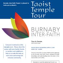 Taoist Temple Tour Event