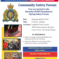 RCMP Spring Forum