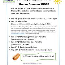 BNH Summer BBQs
