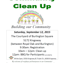 KINA Community Clean Up