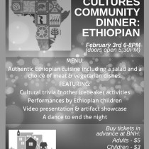 Sharing Cultures Nights-Ethiopian Dinner