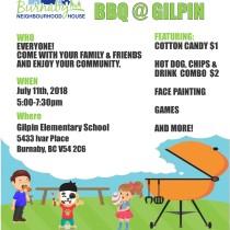 Summer BBQ Gilpin