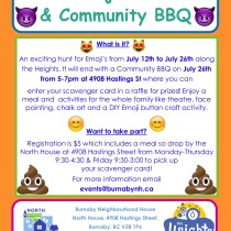 BNH North House BBQ with Emoji Hunt